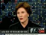 Laura Bush apoya el Matrimonio homosexual en una entrevista para la CNN