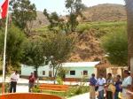 Alumbrado fotovoltaico en plazas públicas de los pueblos rurales donde aún no hay electricidad