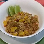 Recetas faciles de Fideos de arroz con vegetales al wok