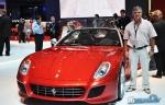 Ferrari SA Aperta presentada en Paris