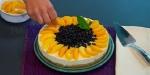 Recetas faciles de Cheesecake con Melocotones