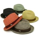 Clasicos sombreros Panamá de Lacoste