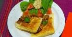 Recetas faciles de Tarta de hojaldre con lomito de res marinado