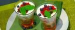 Recetas de Navidad: Trifle de frutos del bosque