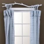Una manera distinta de colgar tus cortinas