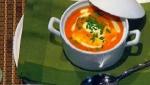 Recetas de Navidad: Sopa de tomate con naranja y comino
