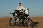 David Frétigné no correrá el Dakar