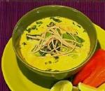 Recetas faciles de Sopa de coco y curri