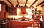 Como tener una cocina de madera