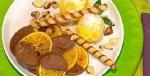 Recetas faciles de Laminas de naranja cubiertas de chocolate