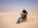 Ignacio Chivite nos concede una entrevista después del abandono en el Dakar 2011