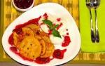 Recetas faciles de Pancakes con chips de chocolate