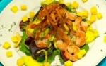 Recetas faciles de Ensalada de aguacate y langostinos