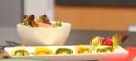Recetas fáciles de Rollitos de zuchini rellenos de queso holandés