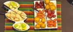 Recetas fáciles Fondue de quesos con jugo de manzana