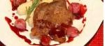 Recetas fáciles de chatas con salsa de vino tinto y cebollitas caseras