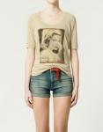 Colección de Camisetas de Zara para el verano 2011