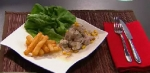Recetas faciles de Ceviche de robalo con leche de tigre
