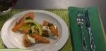 Recetas faciles de Croquetas de maìz con salmòn salteado
