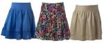 Colección de faldas para el verano 2011