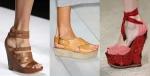 Los zapatos de plataformas para el verano 2011