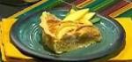 Recetas faciles de Tarta de nueces y melocotones