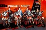 KTM España presento sus equipos oficiales de MotoCross