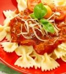 Recetas faciles de corbatitas en salsa de beterraga