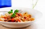 Recetas faciles de corbatitas en salsa de camarones