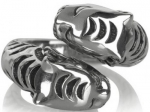 Coleccion de anillos de plata