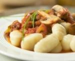 Recetas de Ñoquis en salsa de hongos