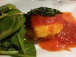 Receta de pastas: Polenta en salsa de tomate