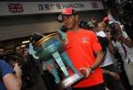 Lewis Hamilton con la victoria en el GP de China