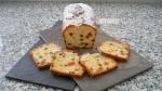Receta del Plum-Cake. Bizcocho de frutas