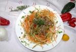 Recetas de ensaladas faciles: Berro con pollo ahumado