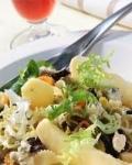 Recetas de ensaladas con pasta, queso y espárragos