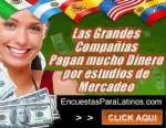 Gana dinero con encuestas remuneradas en español y en ingles