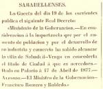 Sabadell: la ciudad de 135 años