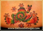 Tatuajes de estilo psicodélicos