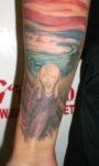 Los tatuajes de obras de arte famosas