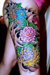 Los tatuajes orientales, bellos y exóticos