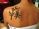 Los chinos, tatuajes mas populares en el mundo.