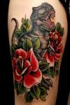 Revive a los dinosaurios con un tatuaje