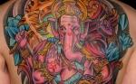 El elefante, un imponente ejemplar para un tatuaje