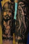 Tattoo de piratas