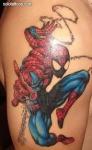 Tatuajes del hombre araña