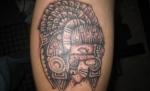 Tatuajes de indios incas y aztecas