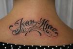 Lleva el nombre de tu pareja con un tatuaje