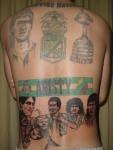 Tatuajes relacionados con el fútbol
