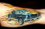 Tatuajes de vehículos o automóviles